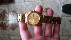 GOLD PLATED SEIKO WATCH FORSALE
