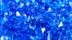 Fireglass for firepits and firelaces