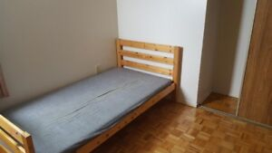 A fully furnished room close to square one mall