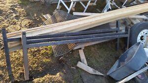 3 steel ladder racks for trailer