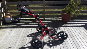 ClicGear Push cart in Excellent condition