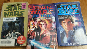 Star Wars novels bundle #6