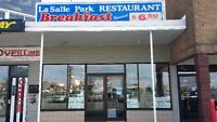 LASALLE PARK RESTAURANT CELEBRATING 40 YEARS IN BUSINESS!!*