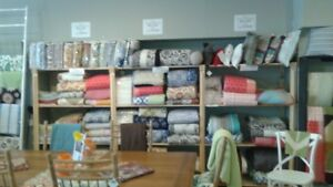 40% Off Quilts, Bedskirts, Duvet covers, Pillows, and Rugs