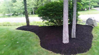 We are offering mulch spreading and delivery !