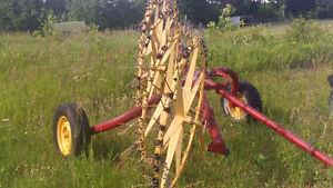 Wheel rake