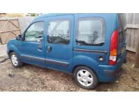 Renault Kangoo 1.2 16v Expression disabled access ramp converted car van camper