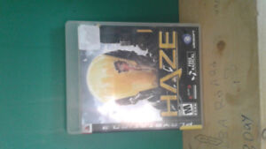 """Ps3 game for sale. The name of the game is """"Haze"""", it"""