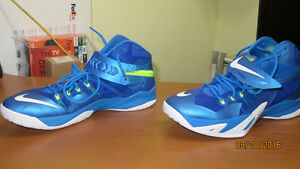 Nike Zoom Soldier S-8 Men Basketball Shoes - Photo Blue – US 11