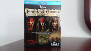 Pirates of the Caribbean Blu-ray Boxed Set (3 Movies)