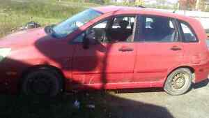 Suzuki Aerio For parts only