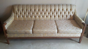 Antique couch + chair for sale