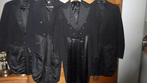 Authentic Men's Top Hat and Tails for Halloween/Christmas/Plays