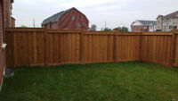 Quality Wooden Fences = Rock Solid Footings