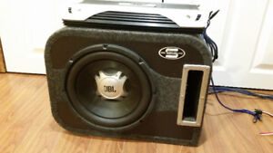 Car Subwoofer + 700W Amplifier