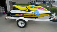 96 Seadoo with trailer.
