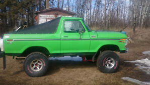 Very nice 79 Ford Bronco For Sale