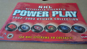 Toronto Sun Complete 168 NHL Stickers Collection 2002-2003