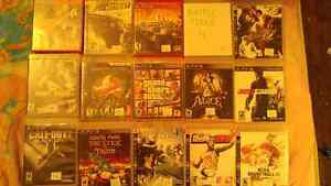36 ps3 games and 1 controller for sale