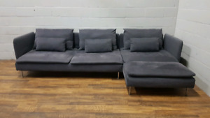Free delivery: Grey Ikea Soderhamn Sectional
