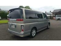 Nissan Elgrand 3.5 automatic 8 seater beige MPV day van only 8000 miles