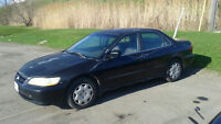 2000 HONDA ACCORD SEDAN $600 OR TRADE