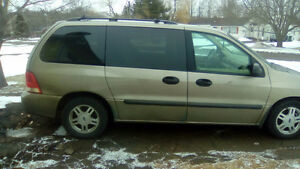 2004 Ford Freestar No Minivan, Van