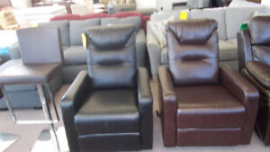 New reclining chairs for $349. Wyse Buys.