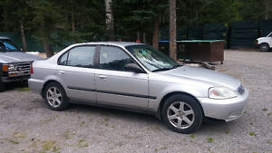 2000 Honda Civic SE Sedan - For Repair or Parts
