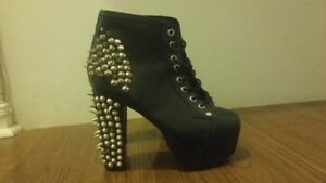Jeffery Campbell Lita Spiked Boots