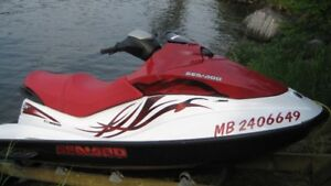 2007 SeaDoo GTI 130 with Floating Dock and Ramp