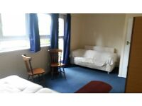 Large double room available in a 4 bedroom flat