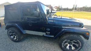 2003 Jeep TJ - Rocky Mountain Edition - AUTOMATIC