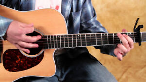 Guitar classes for beginners, Levels 1 2 and 3