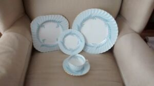 8 place settings Minton Blue Symphony china