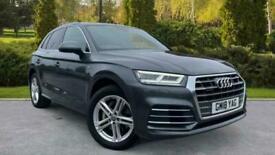image for Audi Q5 3.0 TDI Quattro S Line 5dr Tip (Panoramic Glass Ro Auto Estate Diesel Au