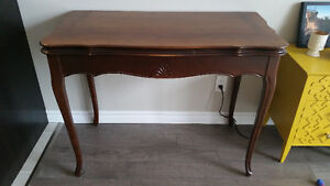MAKE AN OFFER antique wood table, dining table, accent table Kitchener / Waterloo Kitchener Area image 1