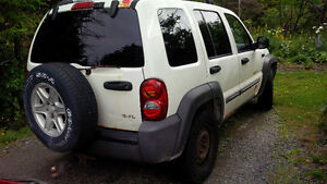 2002 Jeep Liberty for salvage