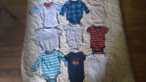 Baby boy clothes 0-3 months.