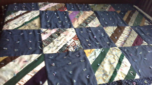 Double size handmade quilt
