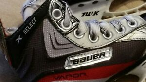 Youth Bauer Vapor X Select hockey skates