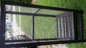 **Handmade Reptile Cage with accessories