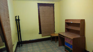 large furnished room in family home