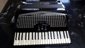 ACCORDIANA 120 BASS 3 REGISTERS ACCORDION BY EXCELSIOR MODEL 505