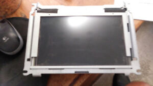 jaguar xf 2009 navigation gps display screen