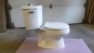 White Water Closet--Great for Basement Reno