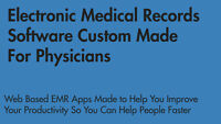 Electronic Medical Records Software Custom Made For Physicians