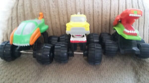 Mattel monster trucks
