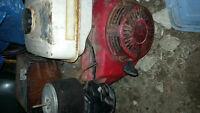 Side shaft motors