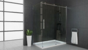 SHOWER DOOR 60 INCH MIROLIN SHOWER DOOR SALE! BLOW OUT SALE